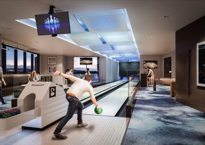 Mix Modern Bowling Lounge